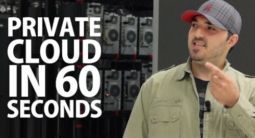 Private Cloud Hosting in 60 Seconds