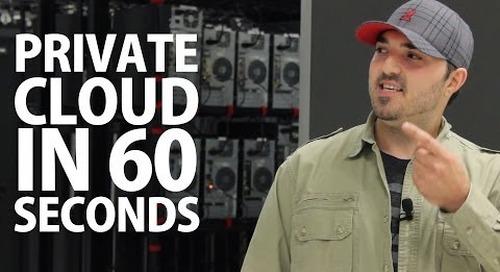 Private Cloud Hosting in 60 Seconds