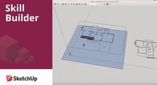 [Skill Builder]  Building a 3D model from a 2D DXF file