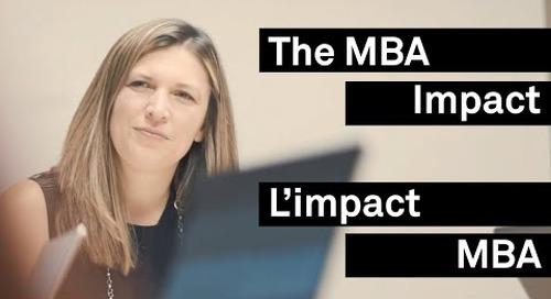 L'impact du MBA : de physiothérapeute à directrice de projet