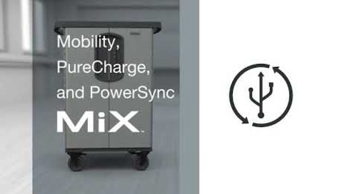 PowerSync MiX and Mobility MiX Charging Carts Made for Apple devices