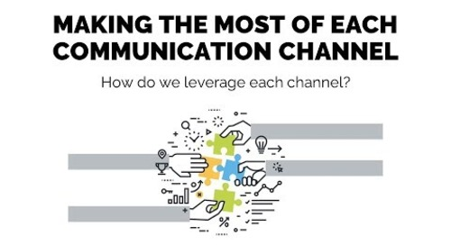 Making the Most of Each Communication Channel   Session 8 - Church Online Communic...