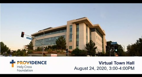 Providence Holy Cross Virtual Town Hall - August 24, 2020
