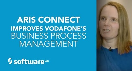 ARIS Connect Improves Vodafone's Business Process Management