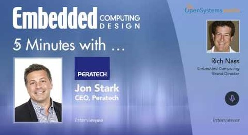 Five Minutes With… Jon Stark, CEO, Peratech