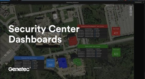 Keep an eye on what matters with Security Center dashboards