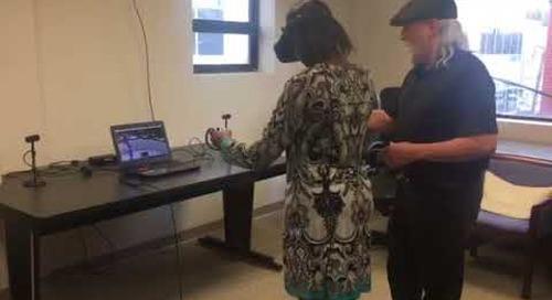 Tasha Bibb of Innovate MS Experiences VR Archery