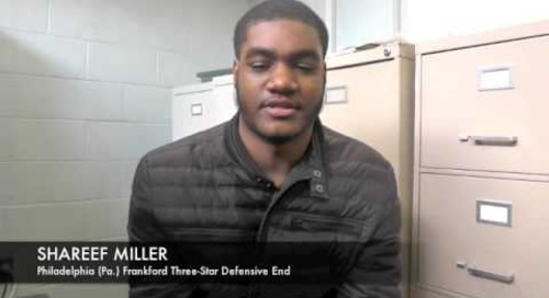 Shareef Miller Talks Notre Dame Interest
