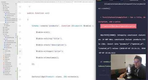 Live Coding Session - Advanced Search with Laravel and Algolia by Nuno Maduro