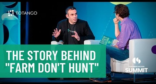 """The Story Behind """"FARM DON'T HUNT The Definitive Guide to Customer Success"""""""