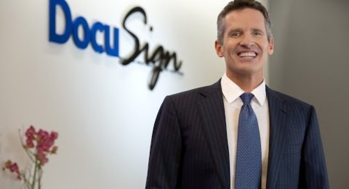 Dan Springer Signs on with DocuSign as CEO
