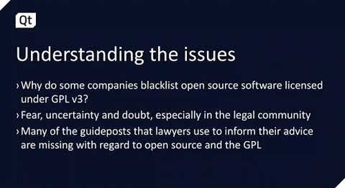Complying with the Requirements of the GPL/LGPL v3 License {On-demand webinar}