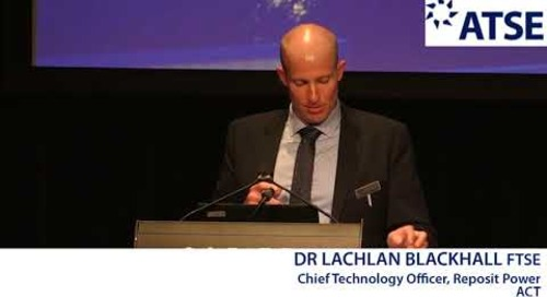 ATSE 2017 New Fellow: Dr Lachlan Blackhall FTSE