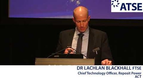 ATSE 2017 New Fellow: Dr Lachlan Blackhall FTSE