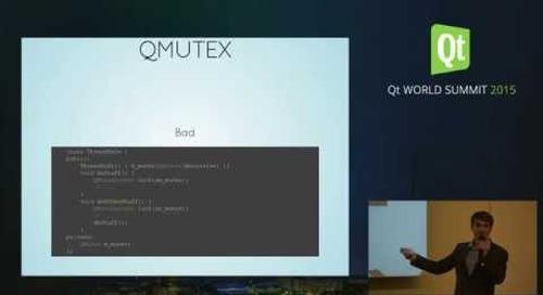 QtWS15- Optimizing Qt Application Milian Wolff, KDAB