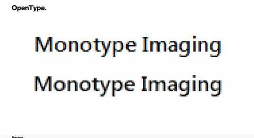 Variable Fonts: Creating a better in-car UX for consumers, Monotype {Qt Virtual Tech Con 2020}
