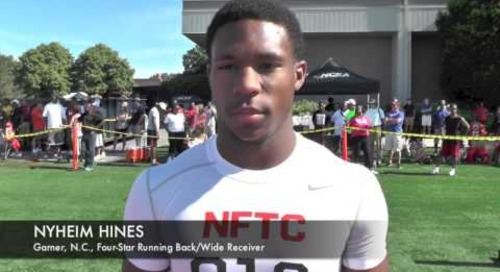 Nyheim Hines Interview