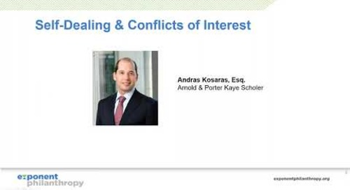 Self-Dealing and Conflicts of Interest