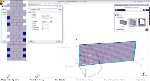 CMU Tools 2.0 in Tekla Structures