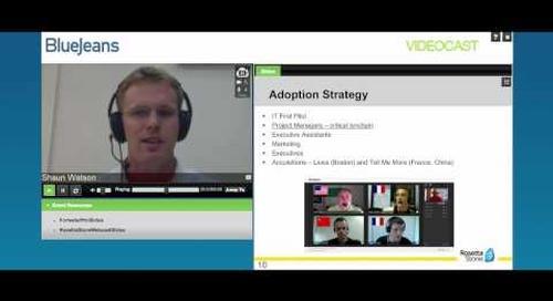 Sample Videoconferencing Adoption Strategy