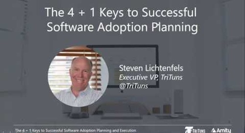 The 4+1 Keys to Successful Software Adoption