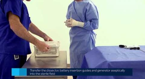 Sonicision Curved Jaw Cordless Ultrasonic Dissection System - In-Service Video 2 of 7