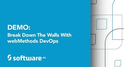 Break Down the Walls with webMethods DevOps