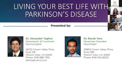 Providence Mission Hospital Parkinson's Disease and DBS Webinar