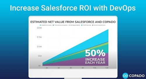 Increase Salesforce ROI with DevOps
