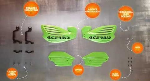 ACERBIS X-Force Handguard - Installation Guide
