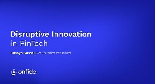 Disruptive Innovation in FinTech
