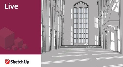 Live Modeling Hogwarts Great Hall in SketchUp