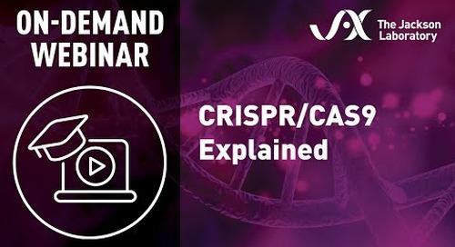 CRISPR/Cas9 Explained