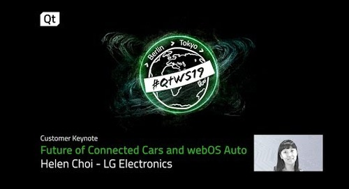 How LG is driving in car infotainment technology with WebOS