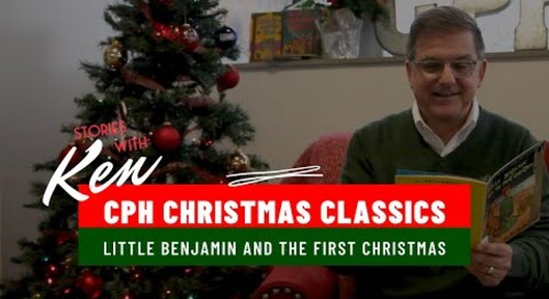 Little Benjamin and the First Christmas | Children's Christmas Bible Story Book Read Aloud