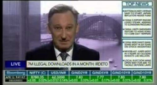 Bloomberg TV, Trending Business - Roger Harvey from Irdeto