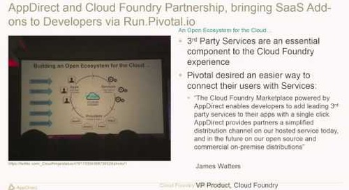 AppDirect - SaaS Add-on Services for Cloud Foundry (Cloud Foundry Summit 2014)