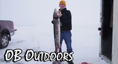 """Lake Winnebago Sturgeon Spearing - OB Outdoors Episode 5: """"A Spearing How To"""""""