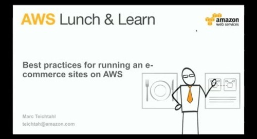 Best practices for running an eCommerce site on AWS