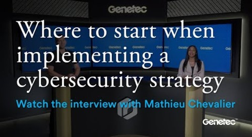 Cybersecurity Month - Interview with Mathieu Chevalier