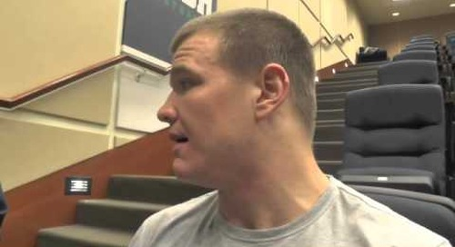 Interview with Notre Dame OT Mike McGlinchey