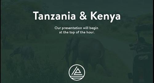 Webinar: East Africa Safari Preview