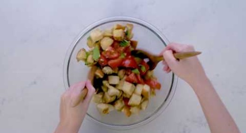 The 5 @ 5 with Jessica Mulroney - Janette's Bread Salad
