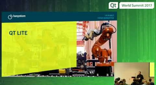 QtWS17 - Practical Qt Lite, Frank Meerkötter, basysKom