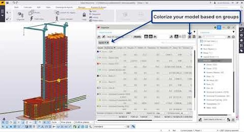 Quantity Takeoff in Tekla Structures Using a IFC
