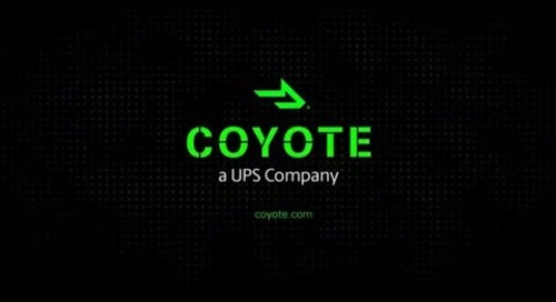 Coyote Logistics: Helping You Deliver on Your Promises
