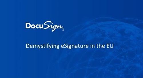 Demystifying eSignature in the EU