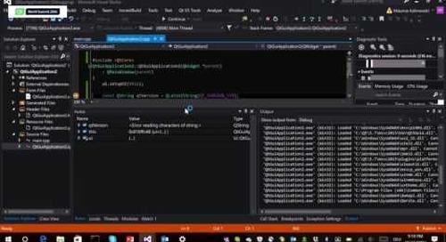 QtWS16- Introducing Qt Visual Studio Tools, Maurice Kalinowski, The Qt Company