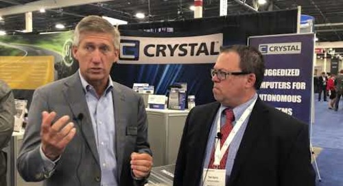 Crystal Group at TU Automotive 2018