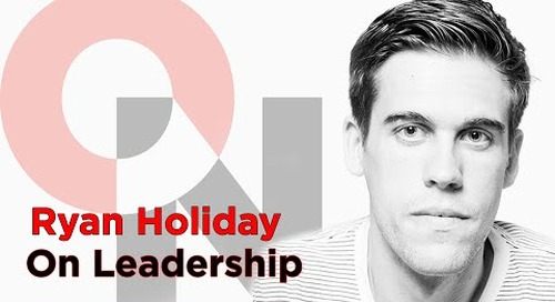 The Stillness Struggle | Ryan Holiday clip | FranklinCovey